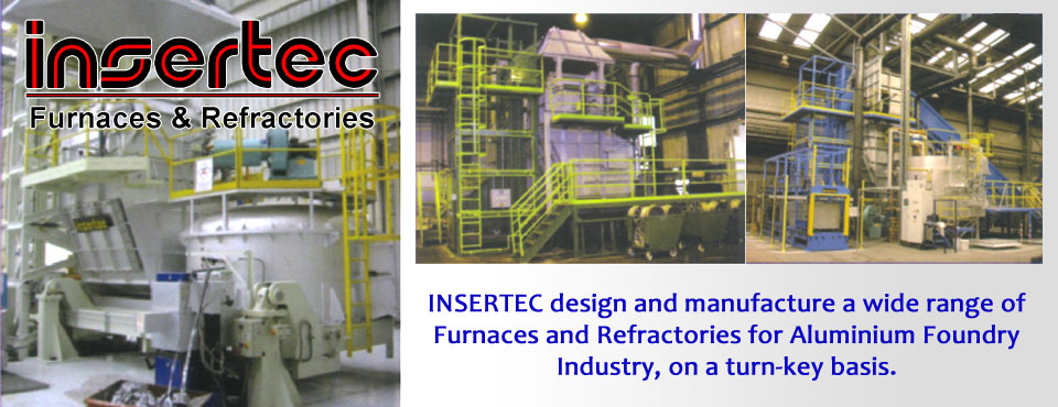 INSERTEC Furnaces and Refractories