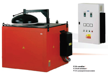 MELTING ELECTRIC RESISTANCE STATIONERY FURNACES