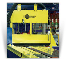 Extrusion Cutoff Saw and Gauge System