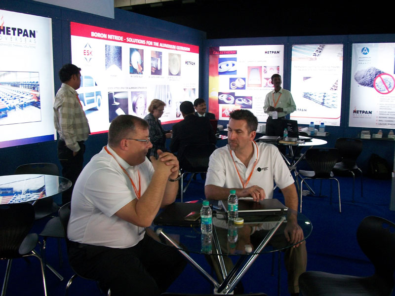 Hetpan Overseas Participate in Alu India 2011